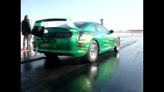 Toyota Supra Hulk edition with notrous oxide
