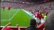 Manchester United vs Chelsea 8th May 2011 Chicharito goal