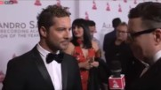 David Bisbal Entrevista Latin Grammy Person of the year - Alejandro Sanz