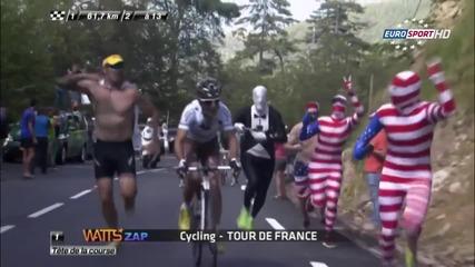 Вижте най-забавните моменти от le Tour de France!