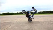 Bmw F800r Stunt - Много яка реклама!