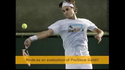 Roger Federer Forhends