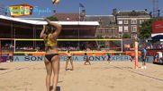 Красиви и секси момичета - женски плажен волейбол