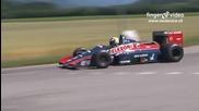 F1 Lolo Ford Larousse 1987 & Ford Gt40 - Slalom de Biere 2015