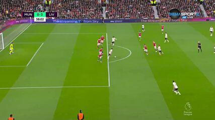 Ман Юнайтед - Ливърпул 0:4 /първо полувреме/