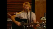 Bon Jovi Someday I ll Be Saturday Night Live Acoustic Version December 3, 2002 Aol Music Sessions
