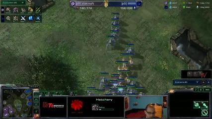 Starcraft 2: Stakiman[z] vs Swepps[p] - Eps квалификация #06