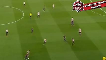 Феноменалният гол на Меси срещу Атлетик Билбао 30/5/15