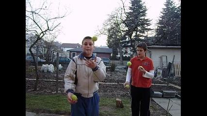 Най-добрите жонгльори в Троян