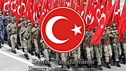 Osmanli Imparatorlugu ' Ndan Bir Turk Askeri Sarkisi - Ceddin Deden ♥ Ben Turkum / Anne Turkiye ♥