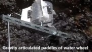 Newly patented Pontoon module of gravity hydrokinetic power plant at horizontal slowspeed water flow