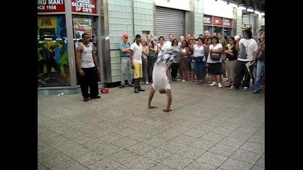 Улични брейкъри в Ню Йорк