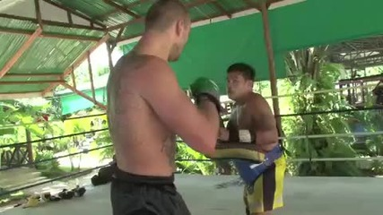 Russian Muay Thai Fighter Max Thailand training Highlight reel
