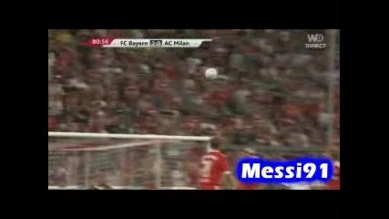 29.07 Супер гол на Андреа Пирло ! Байерн Мюнхен - Милан 4:1 Audi cup