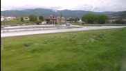 навлизане в град Стрелча.