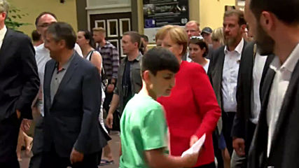 Germany: Merkel feels 'wonderful' as she visits Goslar day after shaking attack