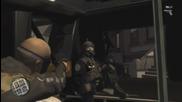 Gta 4 - Полицията си почива в хеликоптер на улицата ;d {720p}