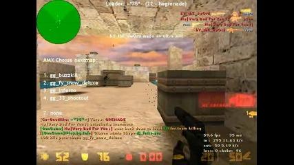 Counter Strike 1.6 Gungame Gameplay