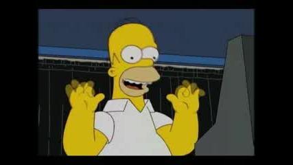 Homer Simpson Се Опитва Да Гласува За Обама Смях !!