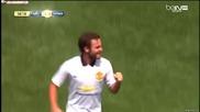 Манчестър Юнайтед 3-2 Рома 26.07.14 , приятелски мач
