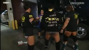 John Cena attacks Nexus Back Stage - 29.11.2010