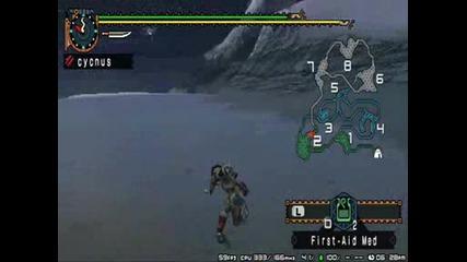 Monster Hunter Freedom Unite gameplay