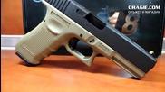 Airsoft пистолет Glock 18c G4 Tactical Tan
