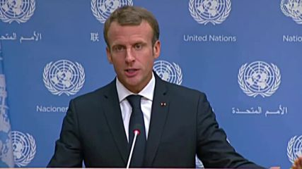 UN: Macron talks Iran, Migration, and Syria after UNGA speech