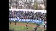 Миньор - Левски 0 - 4, 14.04.2001 г.