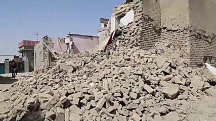 Afghanistan: Ghazni in ruins following Taliban assault