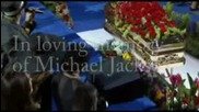 Michael Jacksoon Tribute - Footage With His Children..