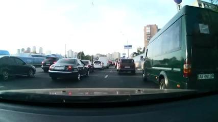 Сбиване между българин и руснак на пътя