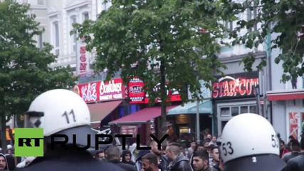 Germany: Kurdish activists rally in Hamburg in solidarity with PKK