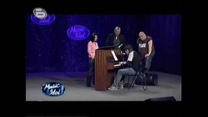 Music Idol 3 Театрален Кастинг - Талантливия Атанас Получи Да 12.03
