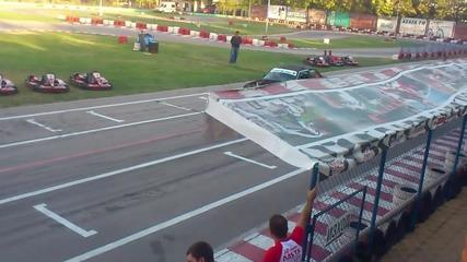 drift show Картинг писта Лаута става на 10 години