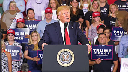 USA: Trump supporters chant 'send her back' as Pres. attacks congresswomen