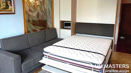 Падащо легло с ъглов диван от www.hm-masters.com
