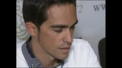 Контадор ще обжалва наказанието си за употреба на допинг