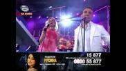 Music Idol 3 - Русина - El Talisman - Игриви латино ритми се носят от сцената,  докато Русина Катърд