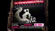 Publicite Moby Go - The Very Best Of