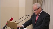 Belarus: OSCE's Sajdik gives annual briefing on Ukraine Contact Group meetings
