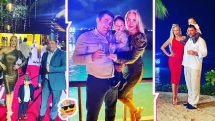 След COVID: Антония Петрова посрещна 2021 г. на Малдивите! Вижте кадри от семейната ваканция