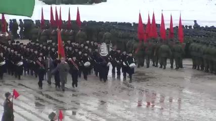 Репетиция за парада на победата в Русия
