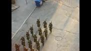караул на гръцките войници