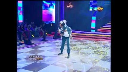 Dancing Stars - Дарин Ангелов и Ани джитърбъг – суинг (29.04.2014г.)