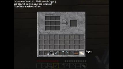 Как се прави карта в Minecraft