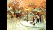 Коледна песен - Коледна елха - Акварела