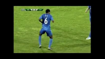Юлу Матондо - Помпа Кючек След гола му срещу Сливен Vbox7