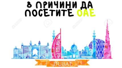 8 причини да посетите ОАЕ