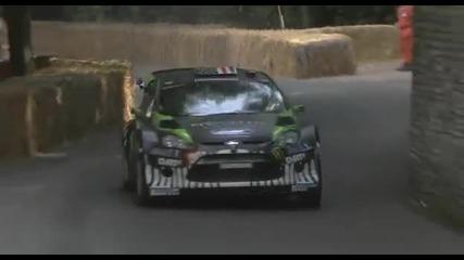 Ken Block - Goodwood Festival Of Speed 2011